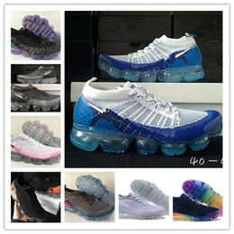 Wholesale Sneakers Belts - 2018 Vapormax moc black belt Mens Running Shoes For Men Sneakers Women Fashion Athletic Sport ShoeWalking Outdoor Shoes size:40-45