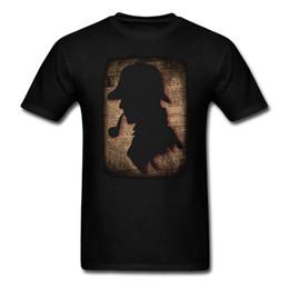 Harajuku Movie Sherlock Holmes Detective Sherlock Novità T-Shirt in cotone stampa T-shirt camisetas hombre Taglie forti XS-3XL da