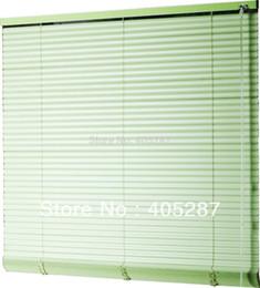 Cortinas venezianas on-line-25mm S Forma PVC venezianas Personalizar janela de cortina janela persiana