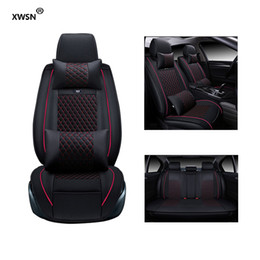 Wholesale Bmw F25 - XWSN Special leather car seat cover for BMW F10 F11 F15 F16 F20 F25 F30 F34 E60 E70 E90 1 3 4 5 7 GT X1 X3 X4 X5 X6 Z4 car accessories