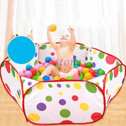 Wholesale Pool Safe - Foldable Kids Children Ocean Ball Pit Pool Game Play Toy Tent Baby Safe Playpen Diameter 1M