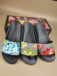 Bags blossom en Ligne-mens womens fashion fleur flower floral pattern print Sandales de glissière en caoutchouc tongs avec sacs moulés en caoutchouc et sacs à poussière