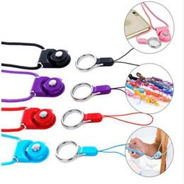 съемный ремешок на шейный ремень Скидка Съемный шейный ремень вращающийся талреп красочные подвесной канат с слинг палец кольцо для сотового телефона MP3 MP4 флэш-накопители ID карты брелок