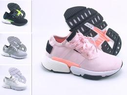 new product f3e3d f0923 Originali di alta qualità POD-S3.1 EVA Triple Bianco nero Blu rosa P.O.D  sport Scarpe da corsa Sneakers Chaussures Designer Traine US 5-12