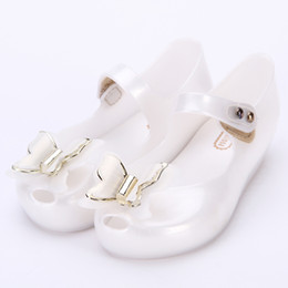 4f7c6c25c6f Melissa 6 Color 3D Butterfly Cute Girls Jelly Sandals 2018 New Melissa  Children Shoes Baby Sandals Comfortable Princess Shoes