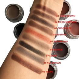 2019 potenziatori di colore degli occhi Brand Brown Colore Long Lasting Enhancer sopracciglio Maquiagem Makeup Waterproof Eye Brow Filler Pomata Gel sopracciglio 6027 sconti potenziatori di colore degli occhi