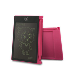 Canada 1 pcs 4.4 pouce LCD Écriture Tablette Mini Portable Dessin Numérique Tablette Écriture Électronique Pads Message Mémo Graphiques Tableau Blanc Offre