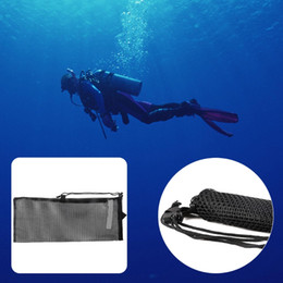 762761132 Natación Buceo Bolsas de malla Secado rápido Buceo Almacenamiento de  natación Bolsa de malla Buceo Snorkel Gear Gafas Bolso dropshipping
