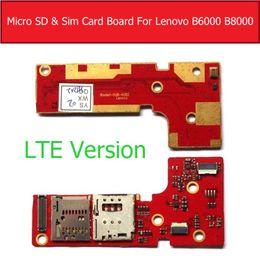 резистивный сенсорный экран Скидка Genuine LTE & WIFI Version Micro SD & Sim Card Board For Lenovo Tablet Pad Yoga 8 10 B6000 B8000 Memory Sim Card Socket board