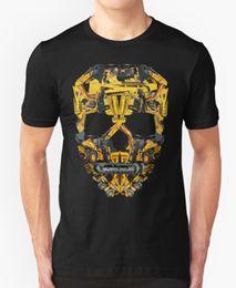 Crâne Construction T-shirt Heavy Equipment Tracteur Pelle Tracteur Anniversaire Cool Fier Casual T-shirt Hommes Unisexe Nouveau Mode ? partir de fabricateur