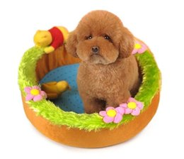 Wholesale Swimming Dogs - Cartoon Swimming Pool Dog Pet Dog Bed Sleep Warm Cat Puppy Soft Dog Blanket Mat Fall Winter Warm Kennel Drop shipping