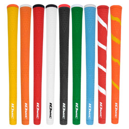 Wholesale Iron Grips - New IOMIC Golf grips High quality PU Golf wood grips 10 colors in choice 30pcs lot irons Free shipping