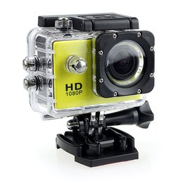 Wholesale Mini Dv Sports Cam - Action Camera HD 30M sport DV 2.0' Screen 1080p go waterproof pro camera Mini Camera Recorder Helemt Cam