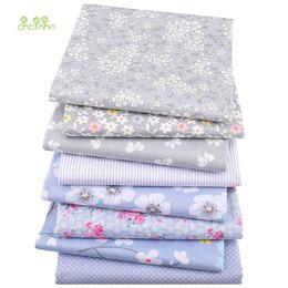 grünes georgegewebe Rabatt 8 teile / los, neue köper baumwollgewebe patchwork grau tissue tuch fett viertel bundle handgemachte diy quilten nähen textil material