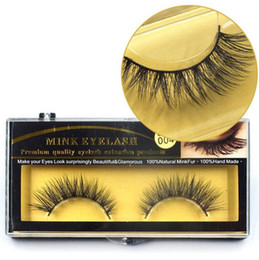 natural soft eyelashes premium mink extensions Coupons - Premium Quality Mink False Eyelashes Natural Long Thick Mink Eyelashes Soft Fake Eye Lash extensions Black 3D Lashes