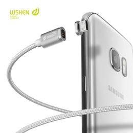 2019 кабель zte Магнитная зарядный кабель Fast Оригинал Wsken Mini 2 Разъем USB металла для IPhone Samsung LG Huawei Meizu ZTE