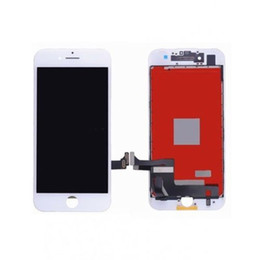Wholesale Lcd 24 - Touch Screen Retina Display LCD for Apple iPhone 7 Black Screen Glass + Frame black and white deliver the goods within 24 hours