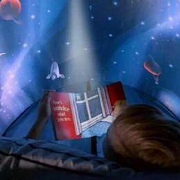 розовый коричневый покрывало Скидка Мечта палатка детские палатки дети дети мальчик девочка замок играть единорог дом Bithday рождественские подарки волшебный мир мечты игрушки палатки