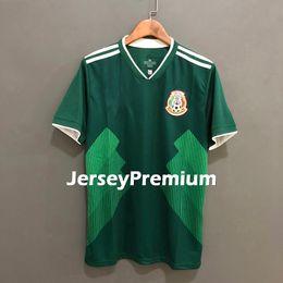 Wholesale r h - Mexico Home Away Football Soccer Jerseys Green White Shirt Chicharito H. Lozano G. Dos Santos H. Herrera M. Layun R. Jimnez