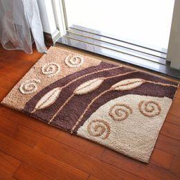 """Wholesale Inside Doors - Flocking Non-slip Mat Indoor Outdoor Doormat Large Small Inside Outside Front Door Mat Rechangle Carpet Floor Rug 20 """"31""""   18 """"26"""" 14 Style"""