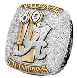 Taille 6-15 Pour bague NCAA 2017 Alabama Crimson Tide Championship ? partir de fabricateur