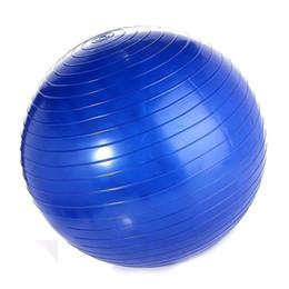 Palle di yoga gratuite online-Esercizio Palla Yoga Ball Free Pump- Palle Fitness Resistente allo scatto, 75 cm, Ideale per Yoga Pilates Addominali e Allenamenti core (Blu 75