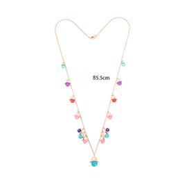 Wholesale halloween bubblegum necklace - Popular Retro Girls Necklace Chunky Boho Bubblegum Beaded Necklace Women Collection Bubble Beads Collar Statement Jewellry