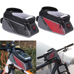 1 x Dağ Yolu Bisiklet Ön Çerçeve Tüp Çanta Telefonu Siyah Kırmızı Su Geçirmez Bisiklet Aksesuarları Çanta Naylon Bisiklet Telefon Tutucu Çanta nereden