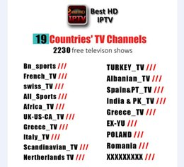 Wholesale best turkeys - 2018 BEST 1 Year HD Streaming IPTV Account Apk Europe iptv include Italy USA Canada UK Germany Turkey 2300+ Channels