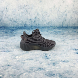 Wholesale Baby Winter Running Shoes - 2018 Baby Kids Run Shoes Kanye West SPLY 350 Running Shoes Boost V2 Children Athletic Shoes Boys Girls Sneakers All Colors For Size 26-35 or