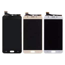 SAMSUNG Galaxy J7 Başbakan LCD için 5.5 inç Ekran G610 G610F G610M SAMSUNG J7 Başbakan LCD Için Dokunmatik Ekran Digitizer nereden asus dokunmatik ekran onarımı tedarikçiler