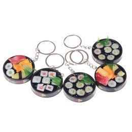 moedas moeda Desconto Simulação Food Sushi Telefone Feitiços Chaveiro bolsa pingente keychain chaveiro creativo decoração engraçado Brinquedos