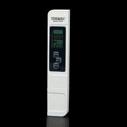 Canada TDS EC Meter Conductivity Meter Outil De Mesure De La Pureté De L'eau 3 en 1 Testeur De Température 0-5000ppm Aquarium Monitor Qualité Offre