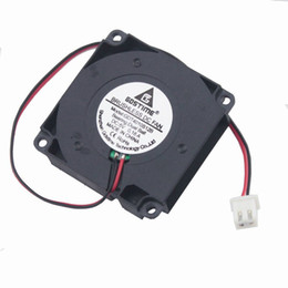 Wholesale 4cm Fan - 5 Pcs Gdstime Ball Bearing 40mm x 10mm Laptop Cooling Fan 5V Mini Blower Fan 3D Printer DC Brushless Cooler 4cm 4010 2 Pin