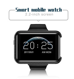 Wholesale free watch video - i5S Bluetooth Smart watch 2.2 inch colorful large screen Mini Car Wide-angle Video record Sleep Pedometer Smart wristband free shipping