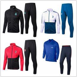 Wholesale Long Sleeve Trousers - 2017 JUVA football training survetesuit jacketand trousers survetement 2017 18 sweater sportswear football Long sleeve training suit