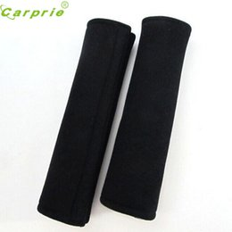 Wholesale Cotton Auto Seat Covers - Auto Child cotton Safety belt for cars Shoulder Protection car-styling cinto pad on the seat belt cover seat belts pillow FEB28