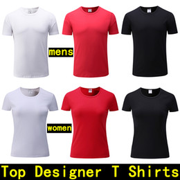 Wholesale Man Famous T Shirt - mens Designer T shirts Men's short-sleeved polo tshirt Cotton Custom Made women shirt Fashion Famous Brand Luxury T-shirt men designer shirt