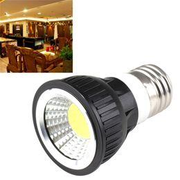 2019 12v вел 5w cob lights Супер яркий AC85-265V E27 GU10 COB Spotlight 5W 7W LED Downlight лампа MR16 12V холодный белый теплый белый пятно света светодиодное освещение дешево 12v вел 5w cob lights