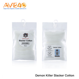 2019 atomiseur tueur Demon Killer Slacker Coton et Demon Killer Slacker Coton Couverture rigide DIY pour atomiseur de cigarette électronique promotion atomiseur tueur