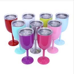 2019 funghi utilizza Bicchiere da vino in acciaio inox Bicchierino da 10 once in acciaio inox Bicchiere in acciaio inox True North 9 colori disponibili Spedizione gratuita