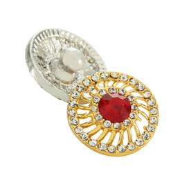 Nouveau 20 pcs Snap Bijoux Mixte Or Snap Bouton Pour Femmes fit 18mm Bracelet DIY Gingembre Perles Bouton Bijoux Cadeau De Noël ? partir de fabricateur