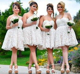Discount White Boho Prom Dresses Boho Lace White Prom Dresses 2019