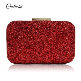 Wholesale Bling Diamond Purses - Women Evening Bag Diamond Rhinestone Clutches Crystal Bling Bling red Clutch Bag Wedding Party Bags Purse