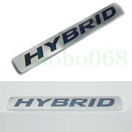 Emblema camry on-line-1 pcs Para Mercedes Benz Volkswagen Camry Reiz Decoração Do Carro Acessórios Emblema Fender Adesivo Decalque HYBRID diy
