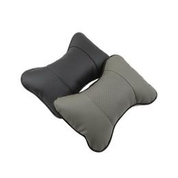 Wholesale car seat head rest pillow - Breathe Car Vehicle Auto Seat Head Neck Rest Cushion Headrest Pillow Pad