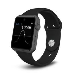 фитнес-телефон Скидка DM09 Smart Watch Phone 4.0 With SIM Card Sports Watches Fitness Tracker Smartwatch for IOS Android Phone pk iwo 5
