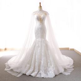 2018 neue einfache koreanische Stil abnehmbare Prinzessin Traum Fischschwanz Schwanz Hochzeitskleid von Fabrikanten