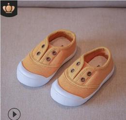 Children s fell running shoes online-Zapatos de lona de caramelo para niños 2019, zapatos para correr para niños, zapatos para correr.
