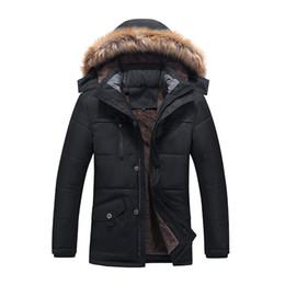 2019 7xl jacke winter Neue Ankunft Männer wattierte Jacken-Mantel mit Haube starker Winter beiläufige Reißverschlussart und weise super groß plus Größe L XL 2XL 3XL 4XL5XL6XL 7XL günstig 7xl jacke winter